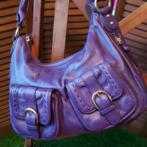 Presa leather  handbag